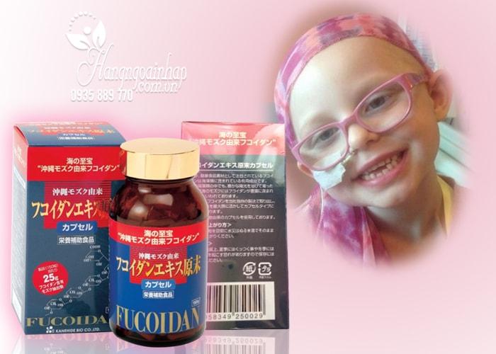 Thuốc hổ trợ điều trị ung thư Okinawa Fucoidan Kanehide Bio Nhật Bản