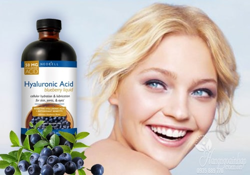 Neocell Hyaluronic Acid Blueberry Liquid 473ml Của Mỹ