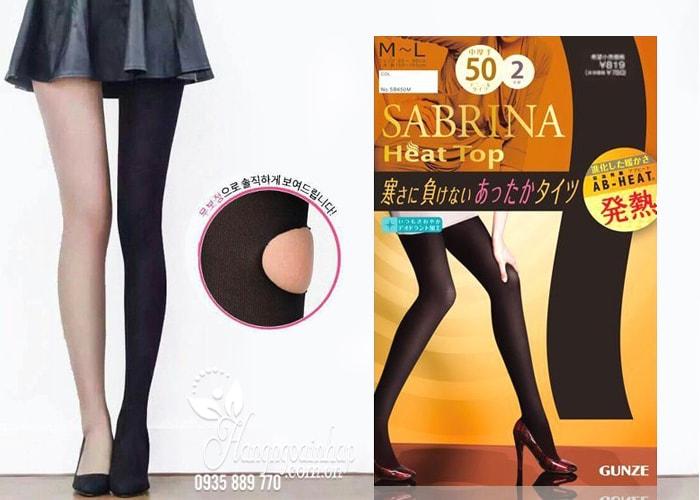 Quần tất sinh nhiệt Sabrina Heat Top 50D Nhật Bản