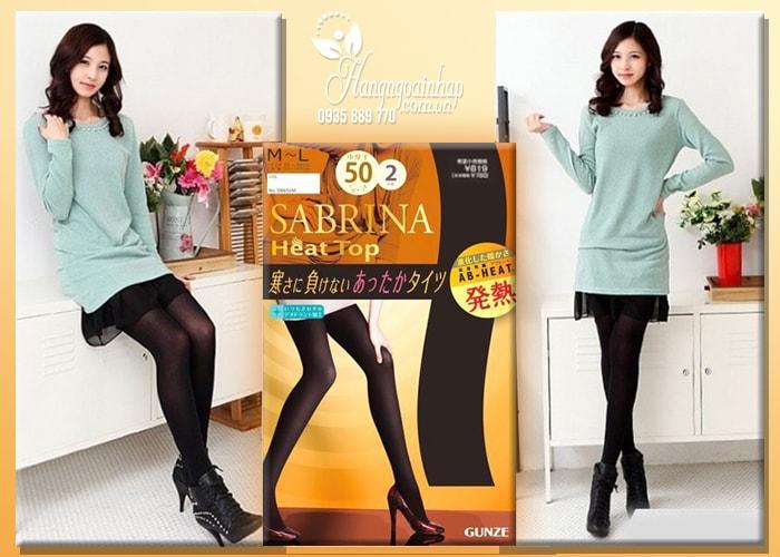 Quần tất sinh nhiệt Sabrina Heat Top 50D