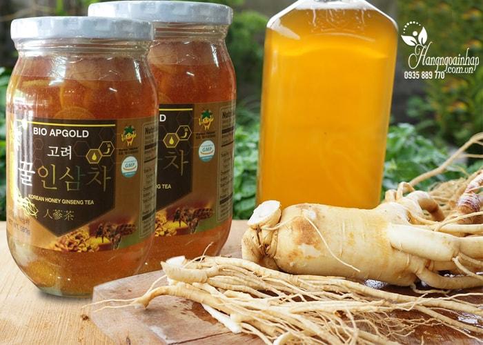 Nhân sâm tươi lát ngâm mật ong 580g Hàn quốc