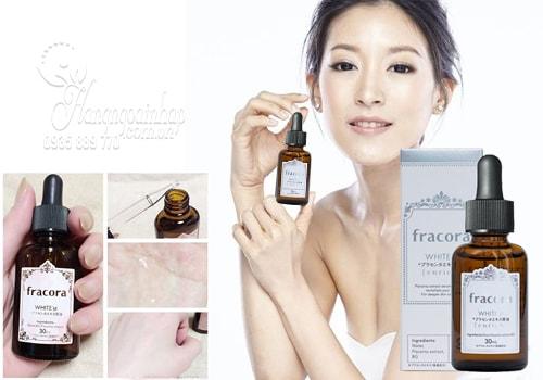 Serum Nhau Thai Fracora White Placenta Extract Enrich của Nhật Bản