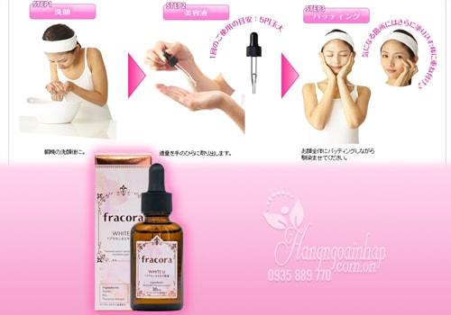 Serum nhau thai Fracora White'st Placenta Extract 30ml của Nhật