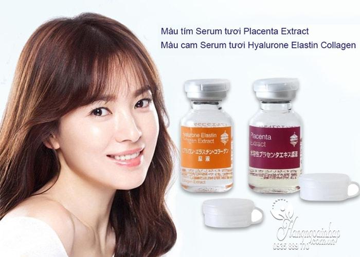 Serum dưỡng trắng da Nhau Thai Heo Tươi BB Lab Nhật Bản