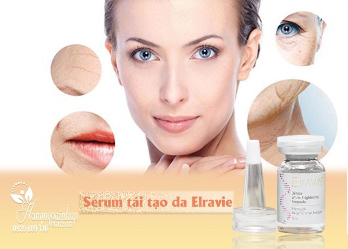 Serum tái tạo da Elravie của Hàn Quốc