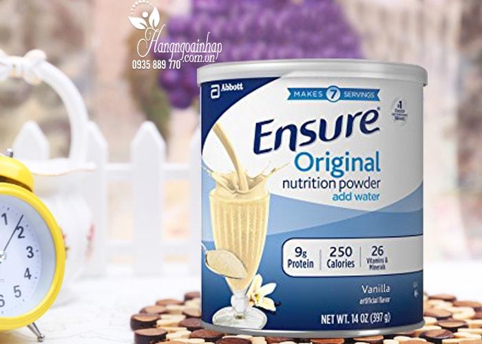 Sữa bột Ensure Original Nutrition Powder 397g của Mỹ