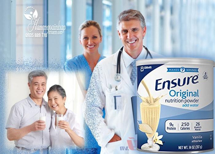 Sữa bột Ensure Original Nutrition Powder của Mỹ