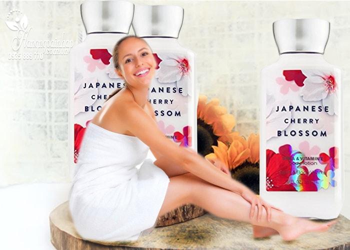 Sữa dưỡng thể Bath & Body Works Japanese Cherry Blossom của mỹ