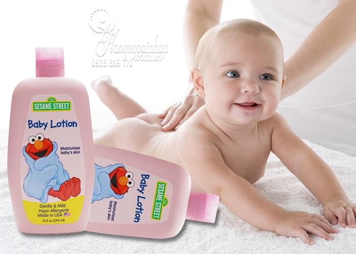 Sữa dưỡng thể cho bé Sesame Street Baby Lotion