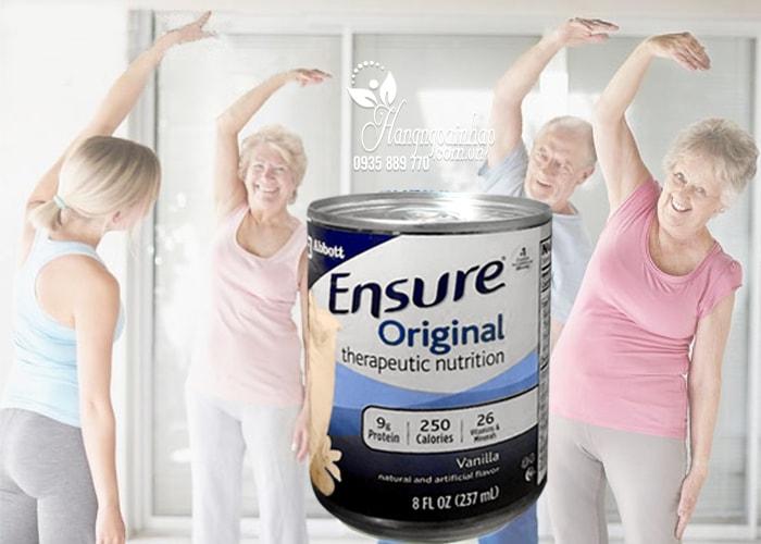 Sữa Ensure Original nước hương Vanilla của Mỹ 237ml