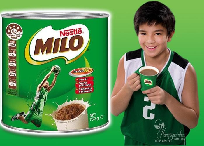 Sữa bột Nestle Milo 750g của Úc