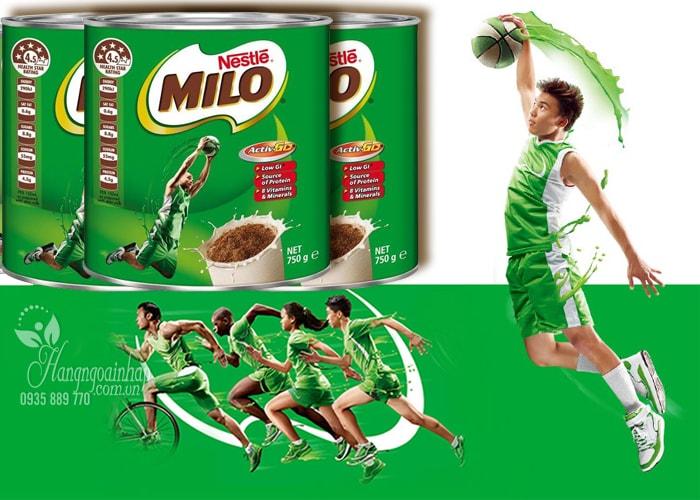 Sữa bột Nestle Milo của Úc – Hàng chính hãng
