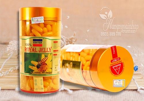 Sữa Ong Chúa Úc 365 viên Costar Royal Jelly 1450mg