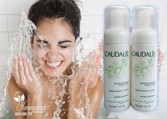 Sữa rửa mặt dạng bọt Caudalie 150ml