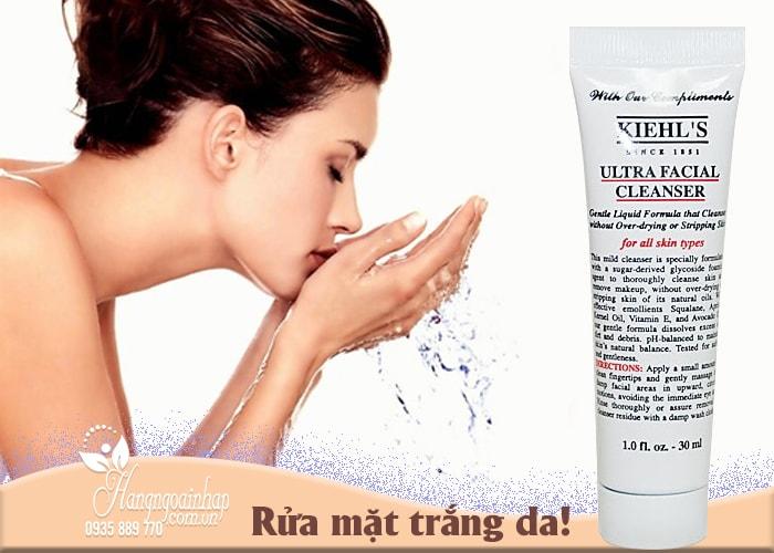 Sữa rửa mặt Kiehl's Ultra Facial Cleanser của Mỹ