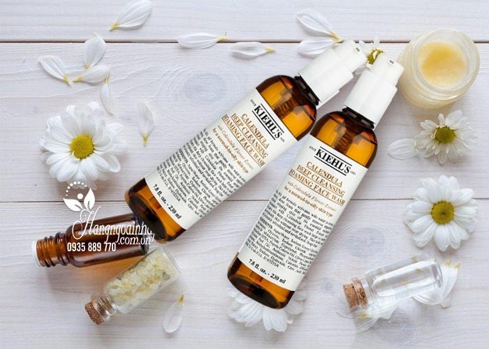Sữa rửa mặt Kiehl's Calendula Deep Cleansing Foaming Face Wash