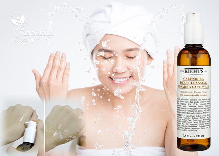 Sữa rửa mặt Kiehl's Calendula Deep Cleansing Foaming Face Wash của mỹ