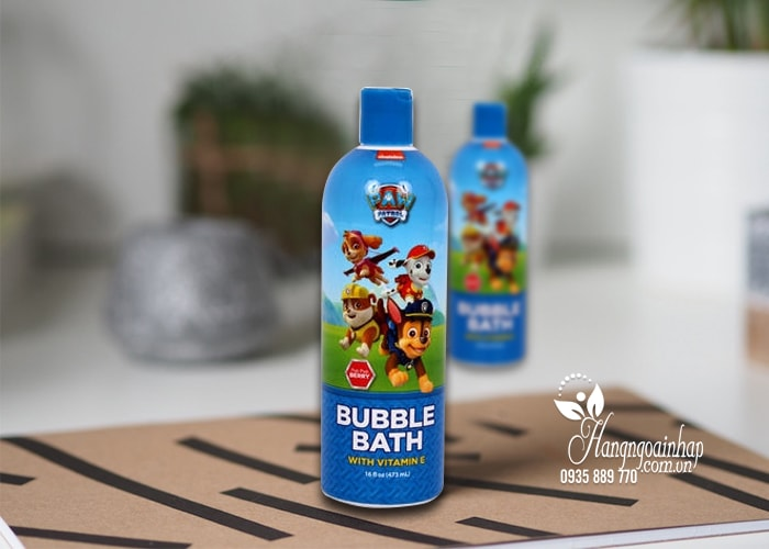 sữa tắm cho bé paw patrol bubble