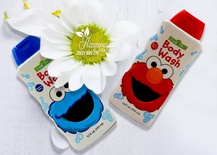 Sữa tắm cho bé Sesame Street Body Wash 355ml của Mỹ