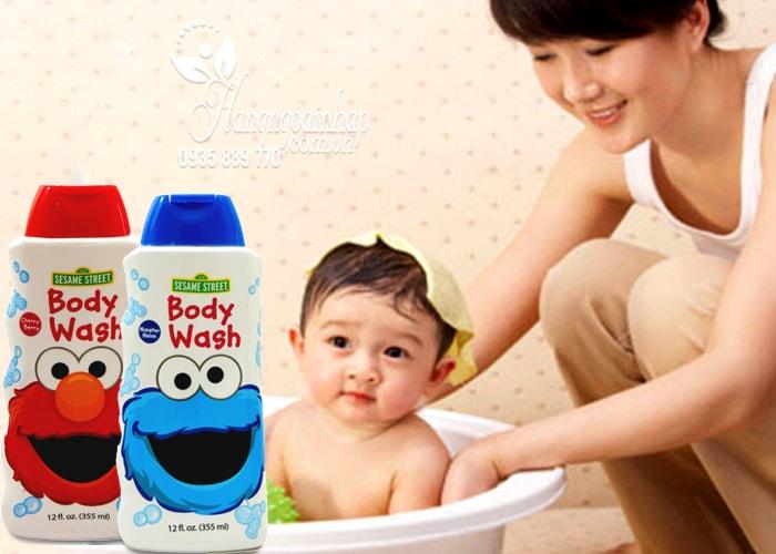 Sữa tắm cho bé Sesame Street Body Wash