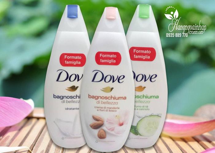 Sữa tắm dưỡng ẩm Dove Bagnoschiuma 700ml