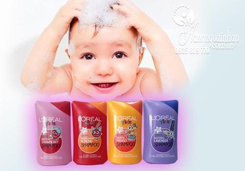 Sữa tắm gội 2 in 1 Loreal Kid 250ml của Mỹ - An toàn cho bé