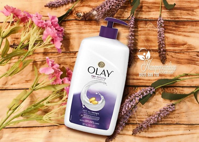 Sữa tắm Olay Age Defying with Vitamin E 887ml