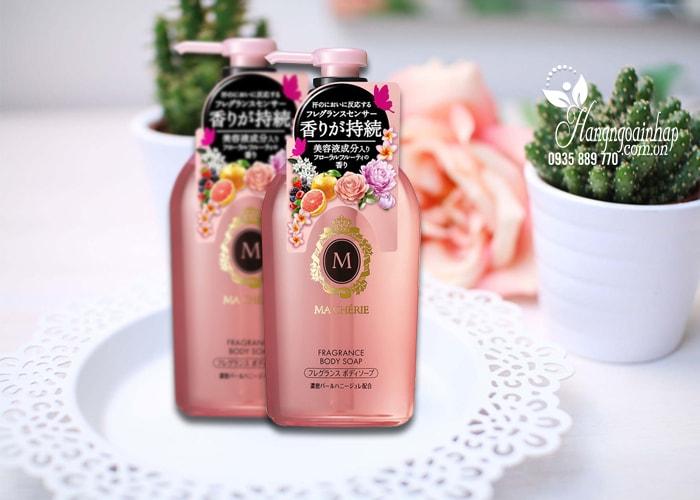 Sữa tắm dưỡng trắng da Shiseido Macherie 450ml của Nhật Bản