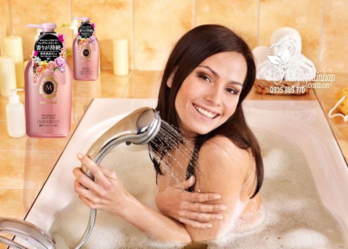 Sữa tắm dưỡng trắng da Shiseido Macherie Nhật Bản