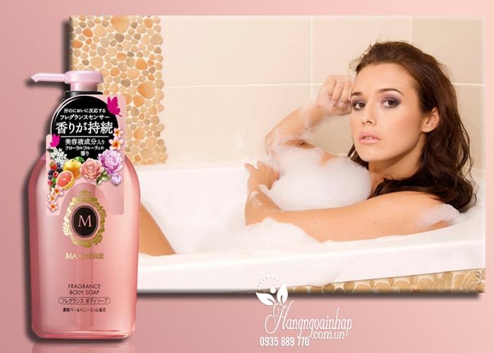 Sữa tắm dưỡng trắng da Shiseido Macherie 450ml Nhật Bản