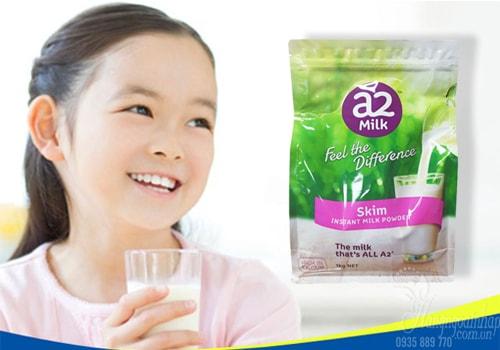 Sữa tươi dạng bột tách béo A2 Milk Instant Skim Milk Powder 1kg của Úc