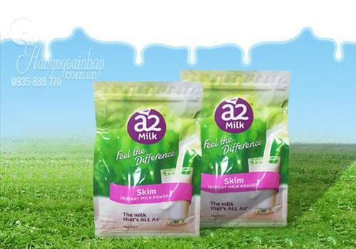 sữa tươi dạng bột tách béo a2