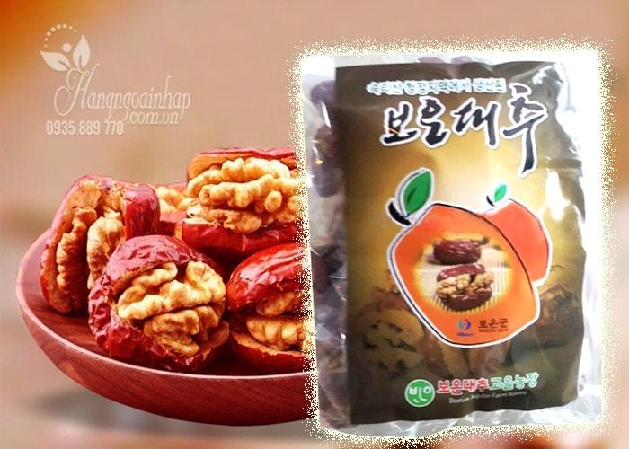 Táo đỏ kẹp óc chó 500g của Hàn quốc - Thơm ngon bổ dưỡng