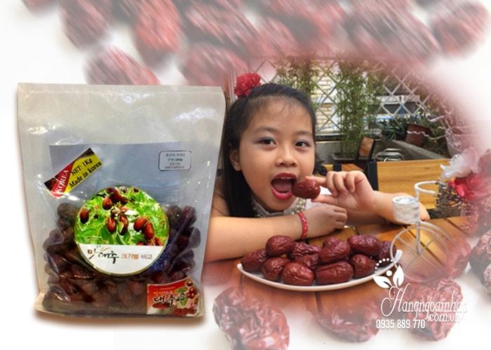Táo đỏ sấy khô Korea 1kg của Hàn Quốc