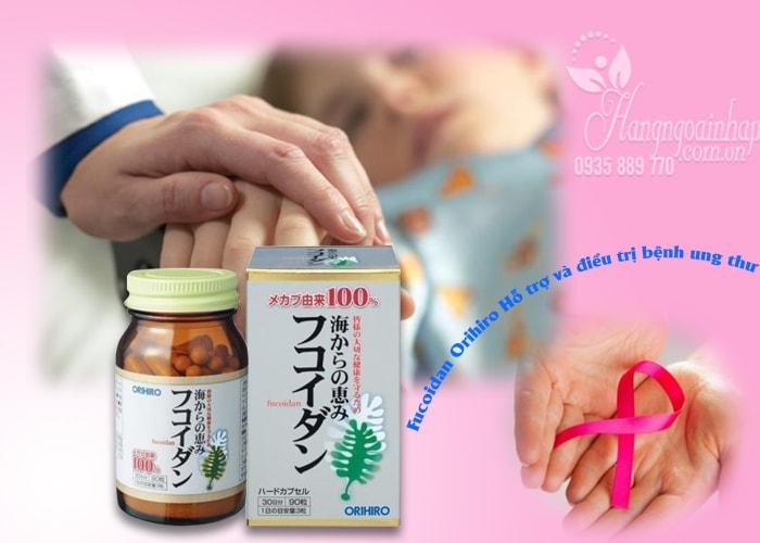 Tảo Fucoidan Orihiro 90 viên Nhật Bản – Hỗ trợ điều trị ung thư