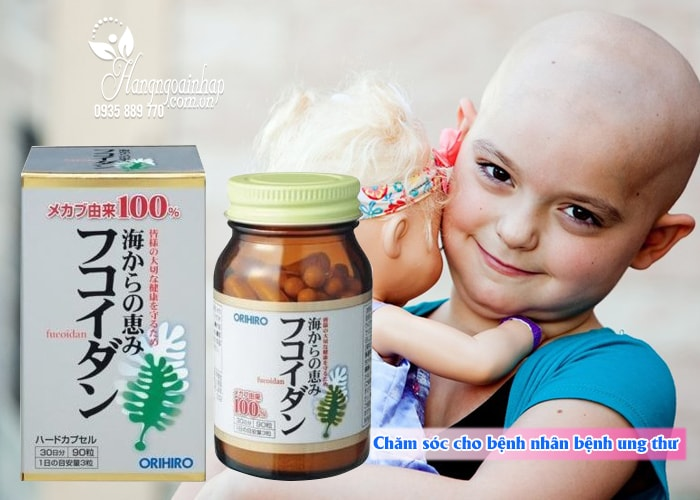 tảo nhật chống ung thư fucoidan Orihiro