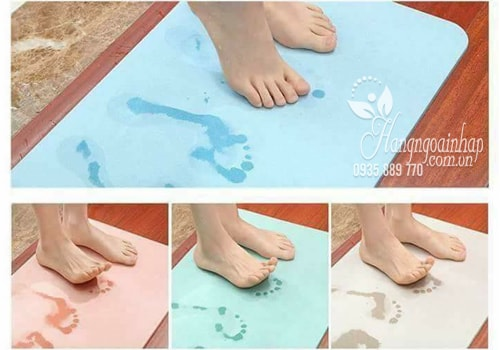 thảm cứng lau chân siêu thấm nước