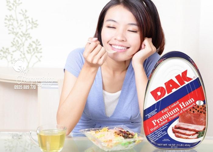 Thịt hộp cao cấp Dak Premium Ham 454g