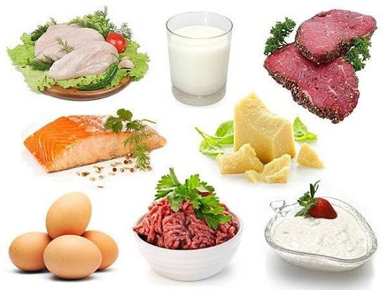 lượng protein cần thiết cho cơ thể