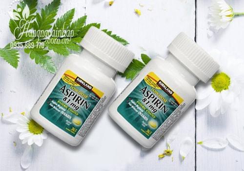 Viên uống giảm đau Kirkland Low Dose Aspirin