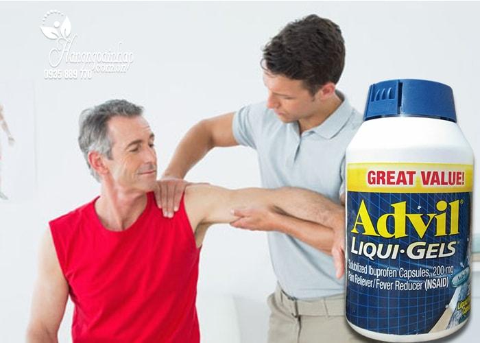 Viên uống giảm đau Advil Liqui Gels 200mg của Mỹ