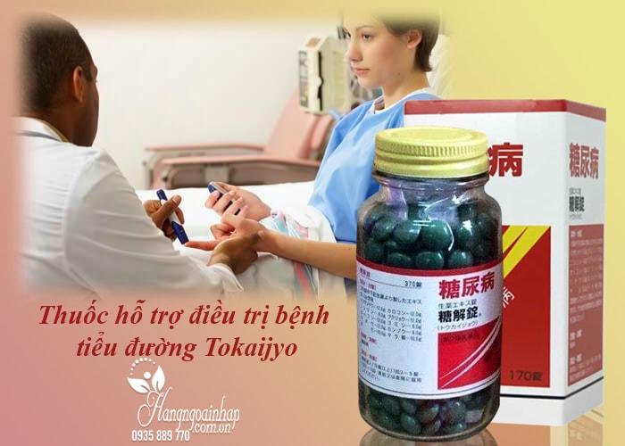 Thuốc hỗ trợ điều trị bệnh tiểu đường Tokaijyo 170 viên của Nhật