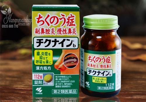 Thuốc đặc trị viêm xoang Kobayashi Chikunain của Nhật Bản