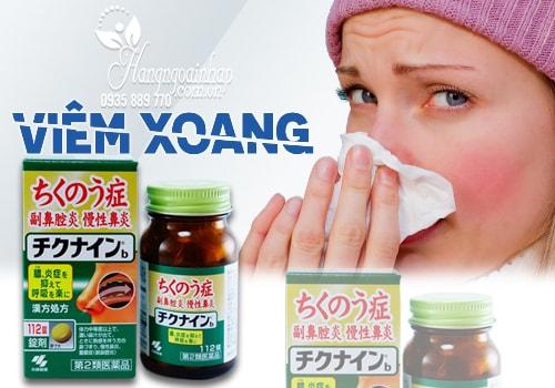 Thuốc đặc trị viêm xoang Kobayashi Chikunain 112 viên