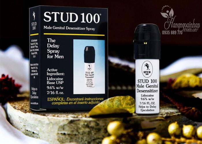 Thuốc xịt chống xuất tinh sớm Stud 100 The Delay Spray For Men