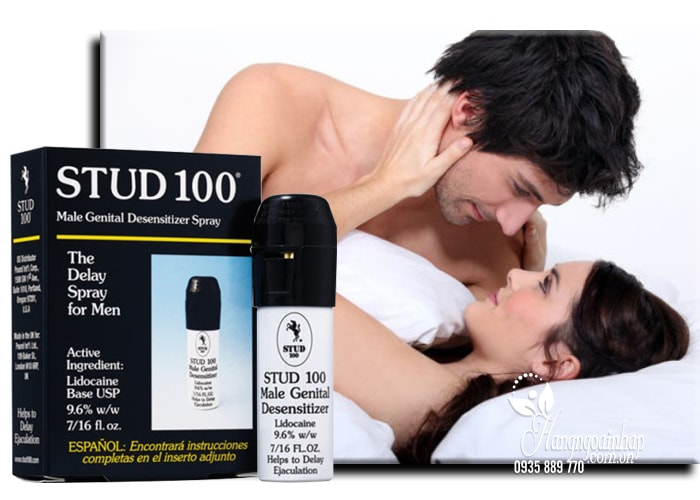 Thuốc xịt chống xuất tinh sớm Stud 100 The Delay Spray For Men của Anh
