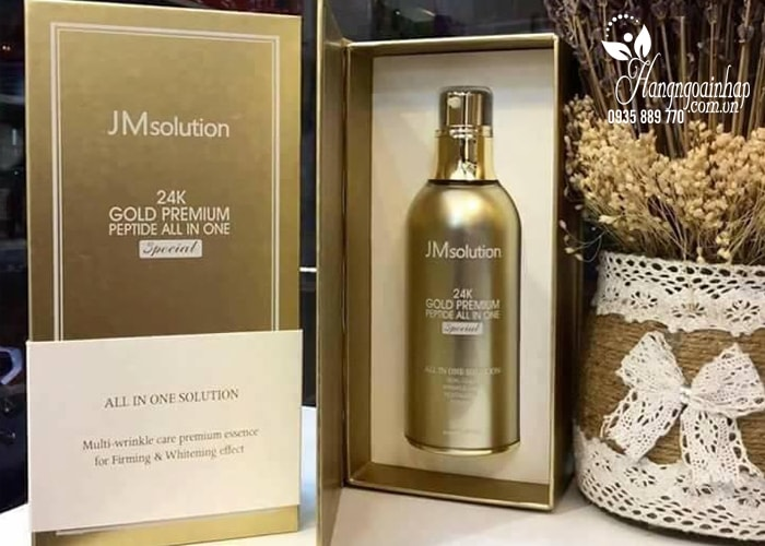 Tinh chất JM Solution 24K Gold Premium Peptide All In One Special 100ml