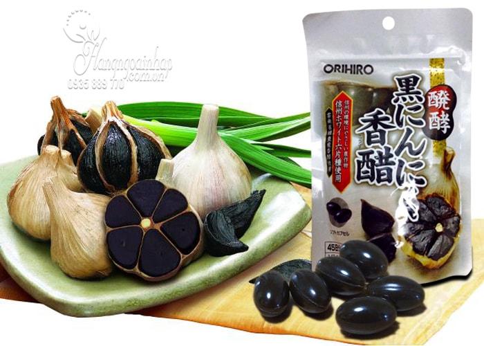 Tỏi đen Orihiro 180 viên của Nhật Bản, tốt cho sức khỏe