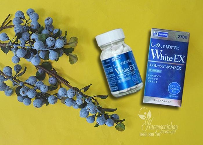 Viên uống trắng da trị nám White EX 270 viên của Nhật Bản