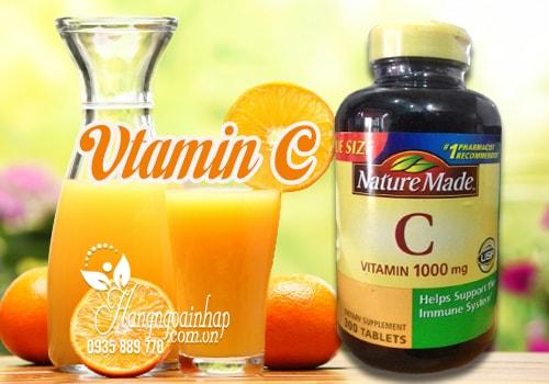 vitamin c 300 viên nature made